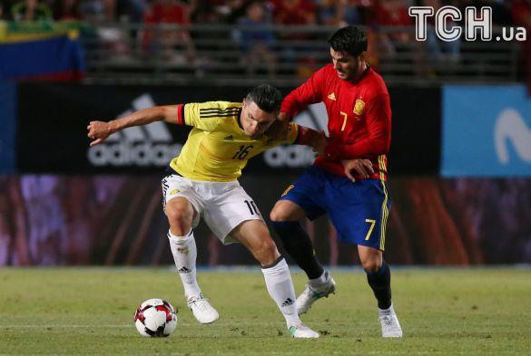 Іспанія - Колумбія