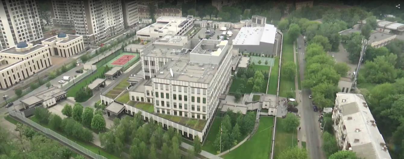 Посольство США не считает взрыв на своей территории терактом