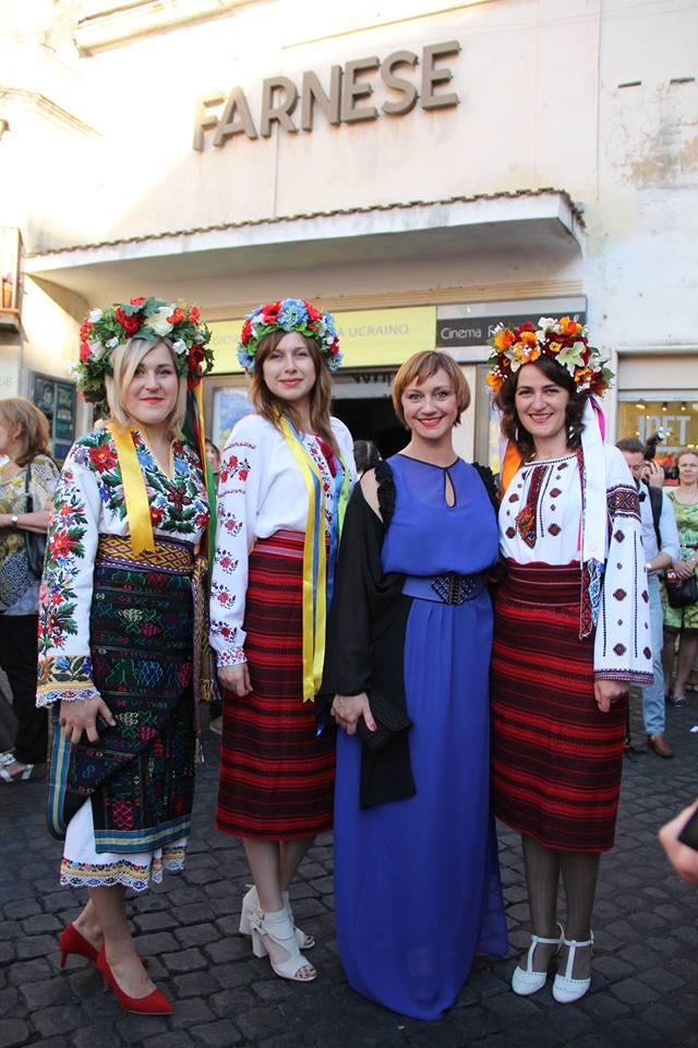 5. Римма Зюбіна та представниці української діаспори в Римі