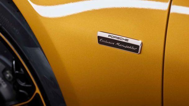 Porsche выпустит уникальное купе 911 Turbo S Exclusive Series