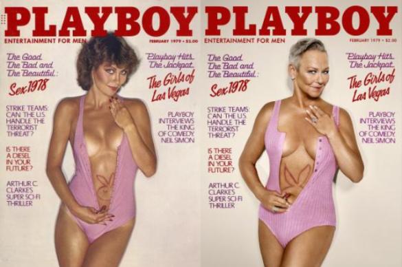 Екс-моделі Playboy на обклаинках через 30 років_5