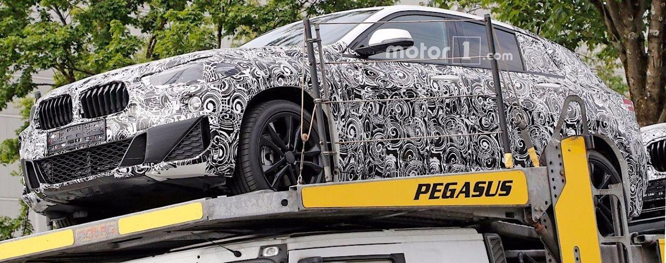 В Сети появились шпионские фото серийного BMW X2