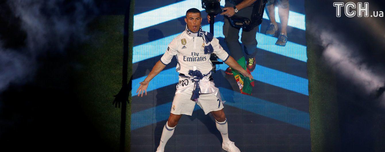 Роналду другий рік поспіль став найбільш високооплачуваним спортсменом світу