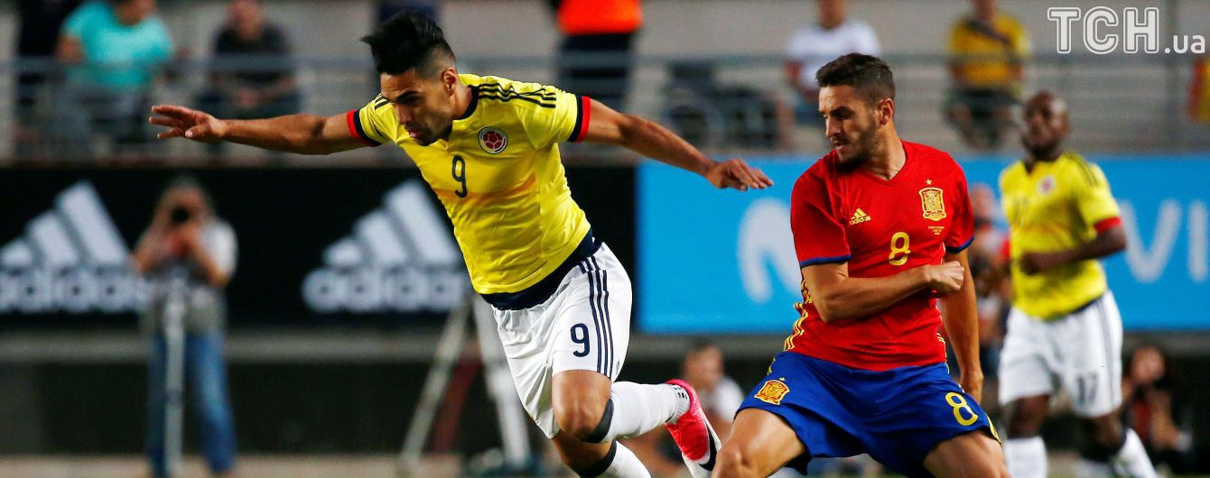 Фалькао стал лучшим бомбардиром в истории сборной Колумбии
