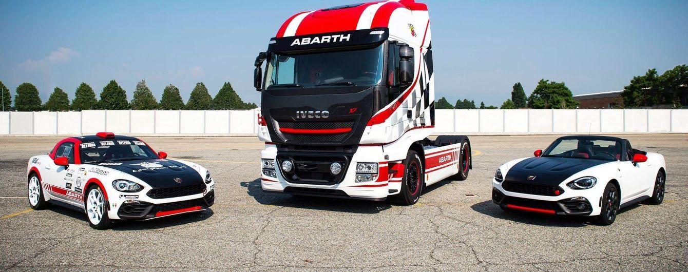 "Abarth подготовил ""спортивную"" версию грузовика Iveco"