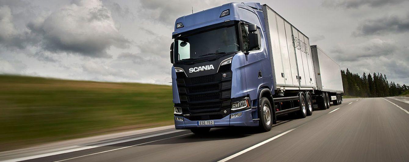Scania представила новое поколение моторов V8
