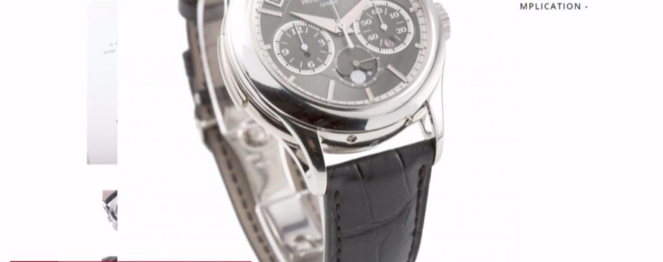 В Монако выставили на продажу часы Путина за миллион евро