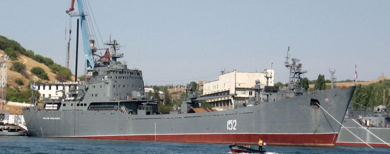 В анексованому Крыму десантники из РФ тренировались атаковать береговые цели