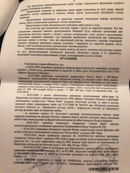 """Фітнес-клуб """"Софійський"""" тягне час в суді, щоб не платити судові витрати і не повертати кредит банку"""