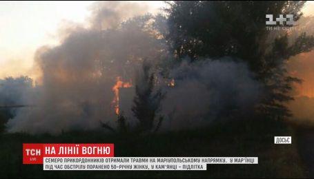 За півгодини бойовики випустили чотири десятки снарядів та мін по Сартані
