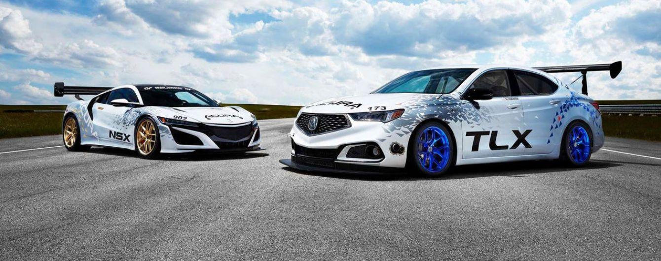 Acura выставит на гонку по подъему на Пайкс Пик три автомобиля