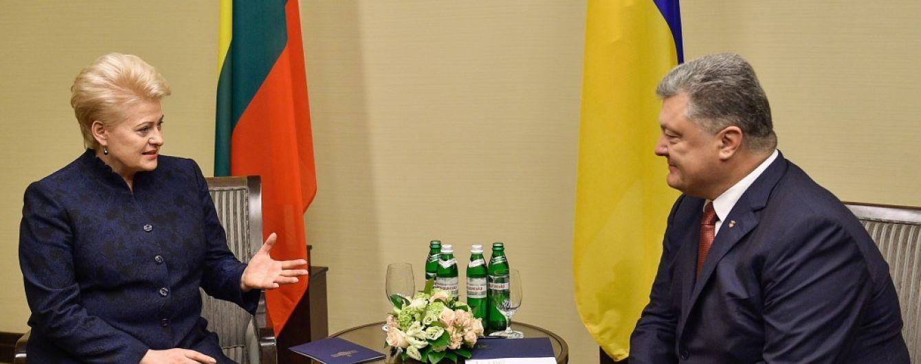 В Харькове начались переговоры между президентами Украины и Литвы
