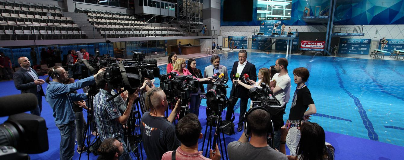 Ігор Лисов та Дмитро Єкимов розповіли про майбутній чемпіонат Європи зі стрибків у воду