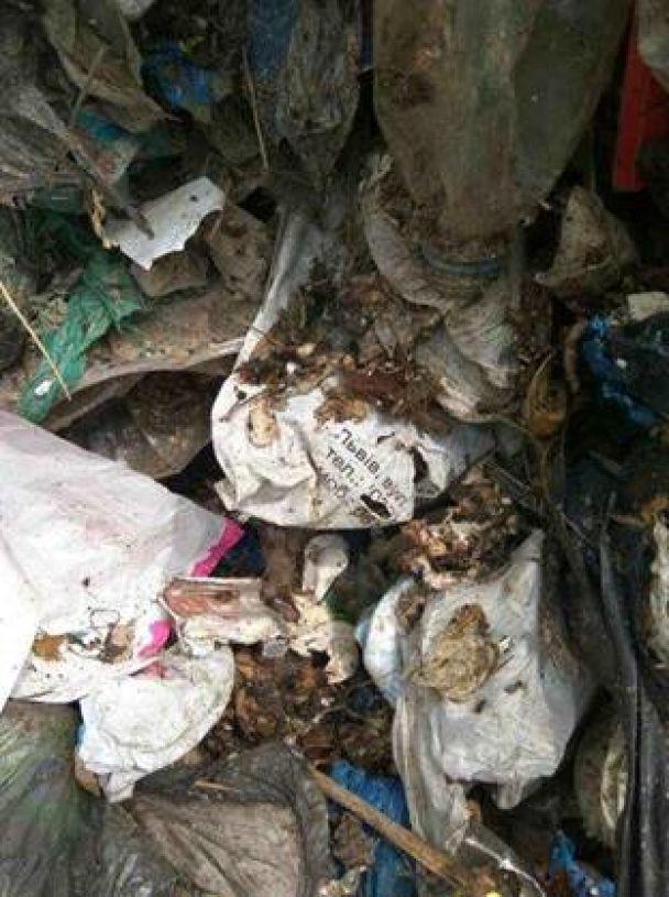 Неизвестные сбросили в поле возле Борисполя свыше 60 тонн львовского мусора