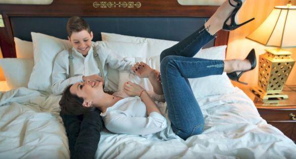 Лілія Подкопаєва з дітьми для Viva_3