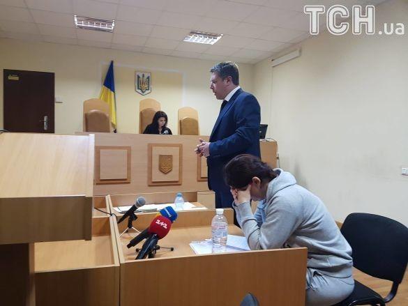 Юлія Приходько в суді