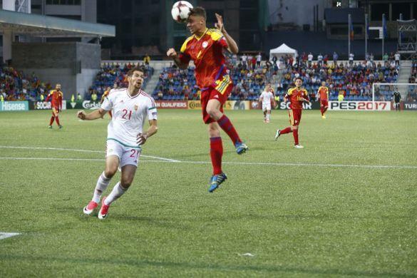 Андорра - Угорщина - 1:0, збірна Андорри