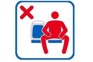 """""""Не розсувати ноги"""": у громадському транспорті Мадрида з'явиться новий знак для чоловіків"""