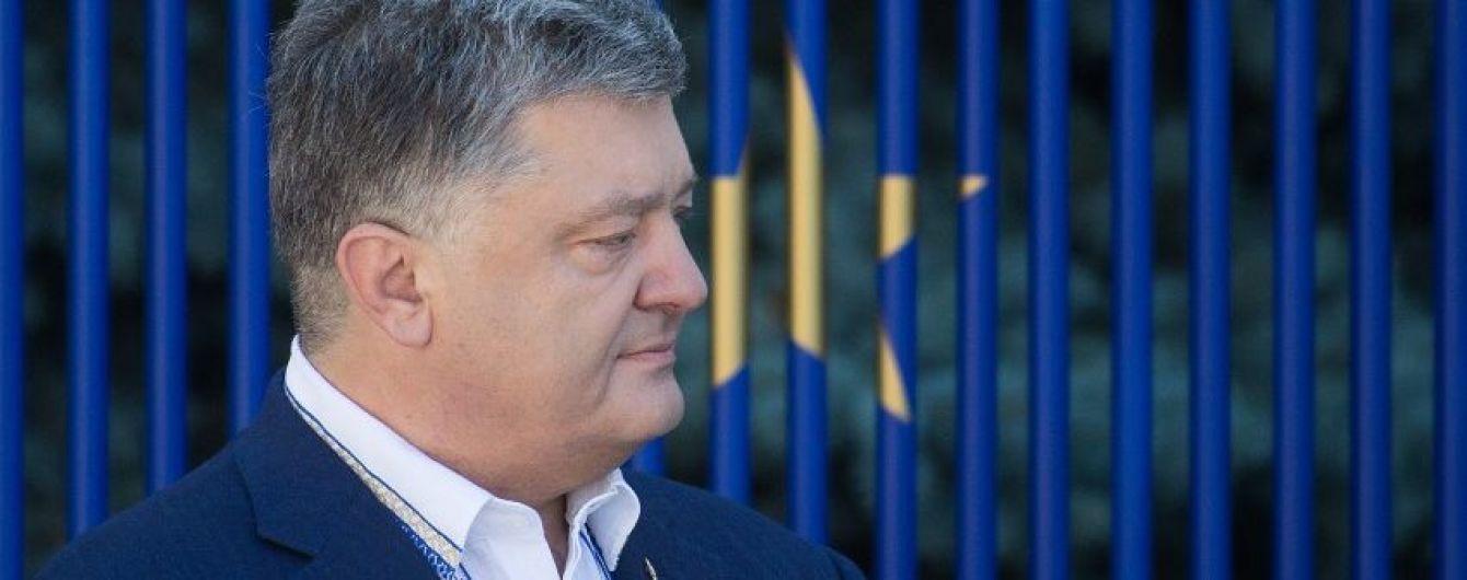 На границе Украины с государствами ЕС будет единая система контроля – Порошенко
