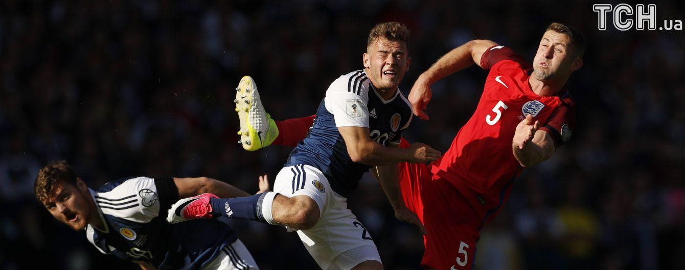 Англия и Шотландия обменялись суперголами и сыграли вничью в отборе на ЧМ-2018