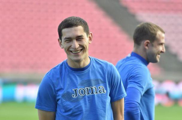 Сборная Украины провела последнюю тренировку перед матчем с Финляндией