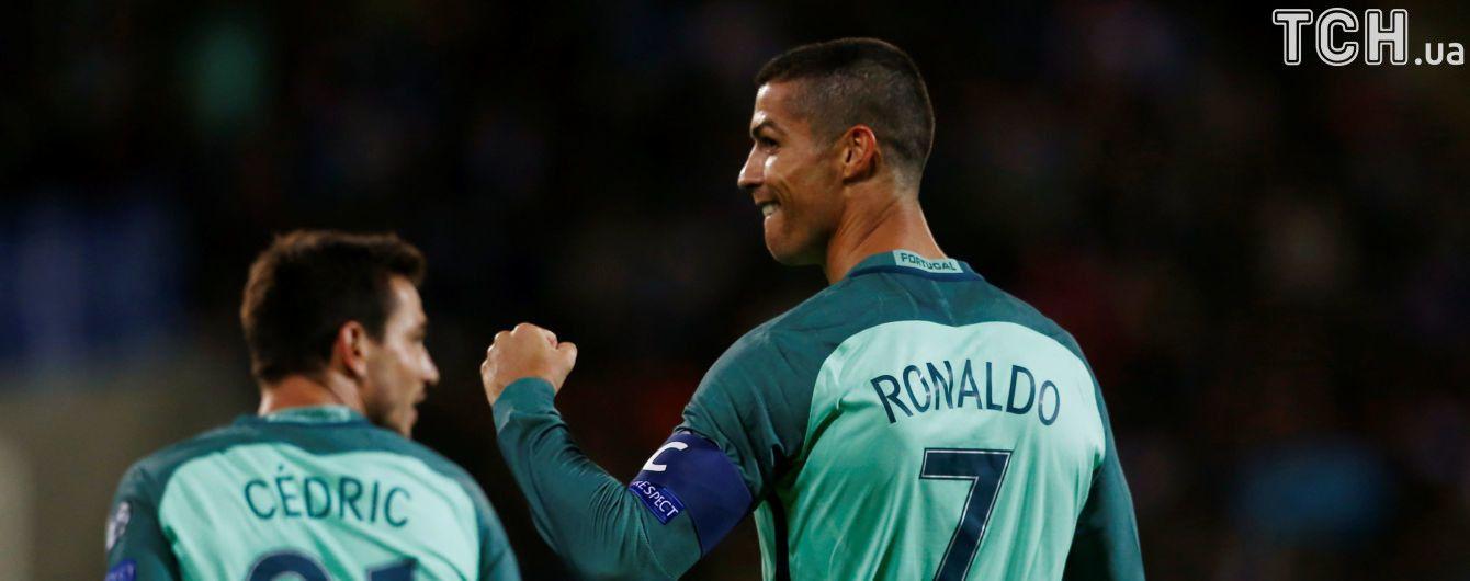 Роналду поднялся на третье место в списке лучших снайперов европейских сборных всех времен