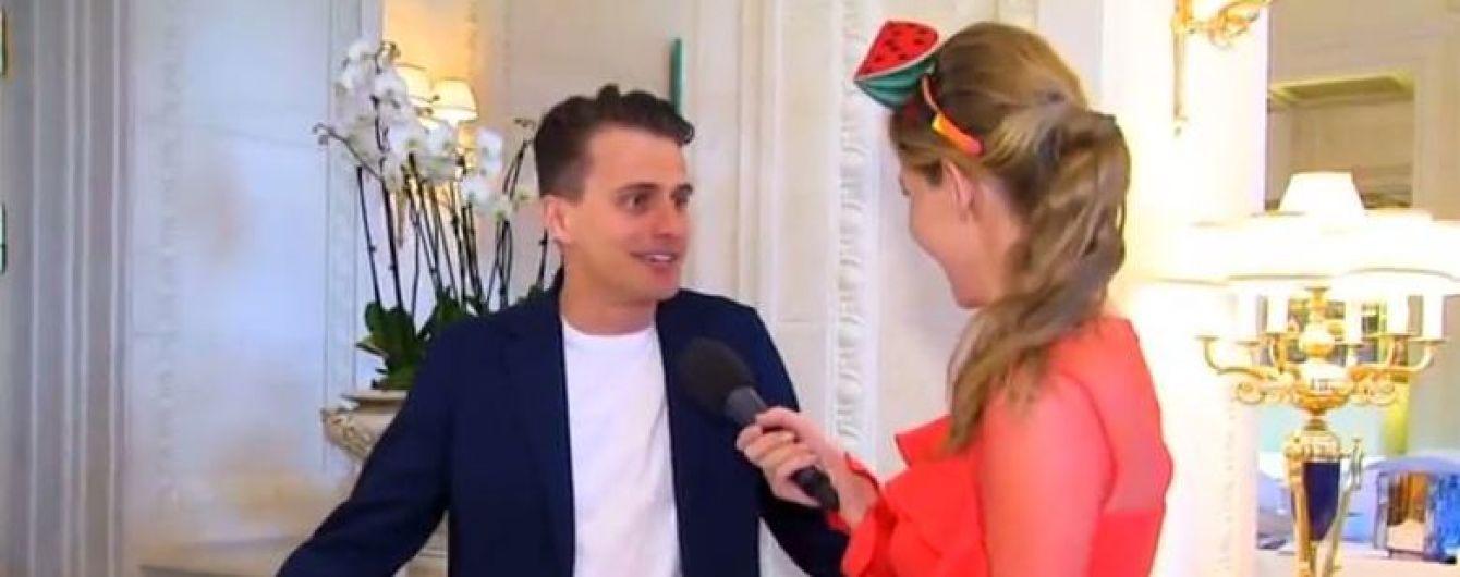 """Ведущий """"Евровидения-2017"""" Скичко рассказал об особенности сопилки, которой покорил зрителей конкурса"""