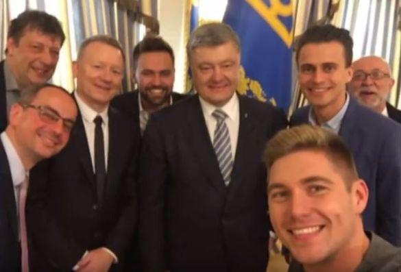 """Ведучий """"Євробачення-2017"""" Скічко та Порошенко_2"""