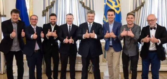 """Ведучий """"Євробачення-2017"""" Скічко та Порошенко_1"""