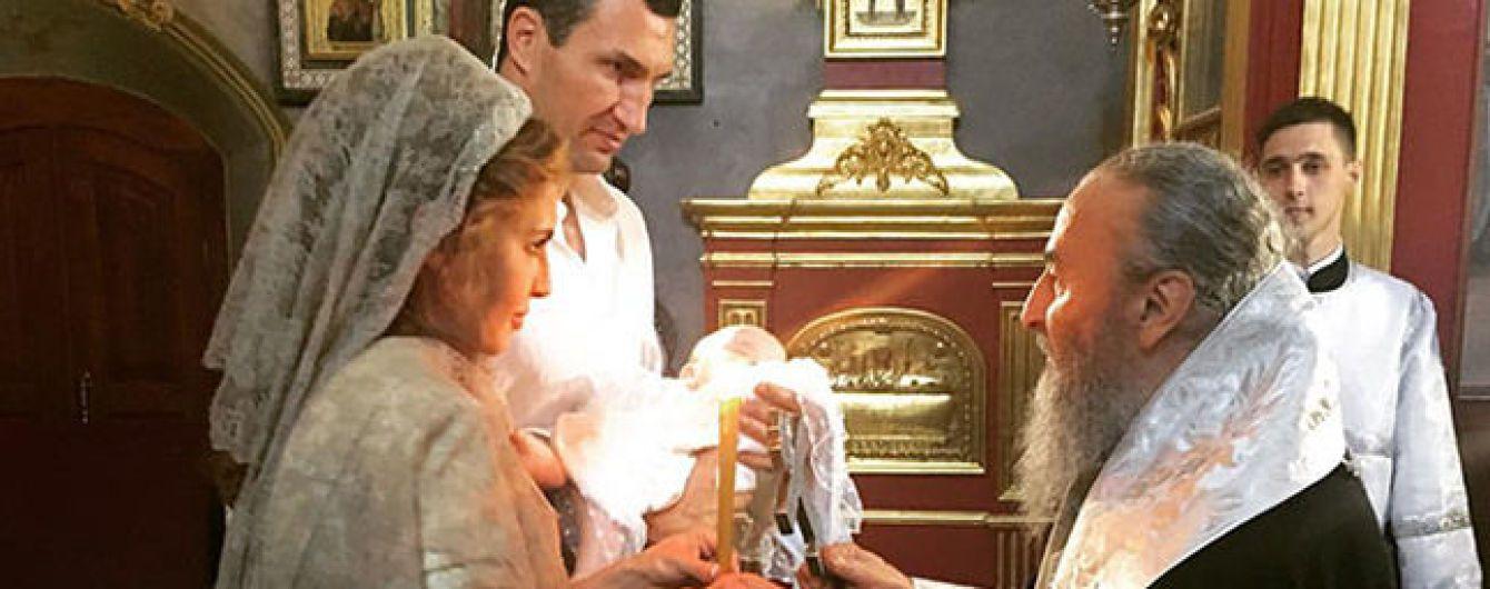 Владимир Кличко и жена Медведчука стали крестными дочери Шуфрича - СМИ