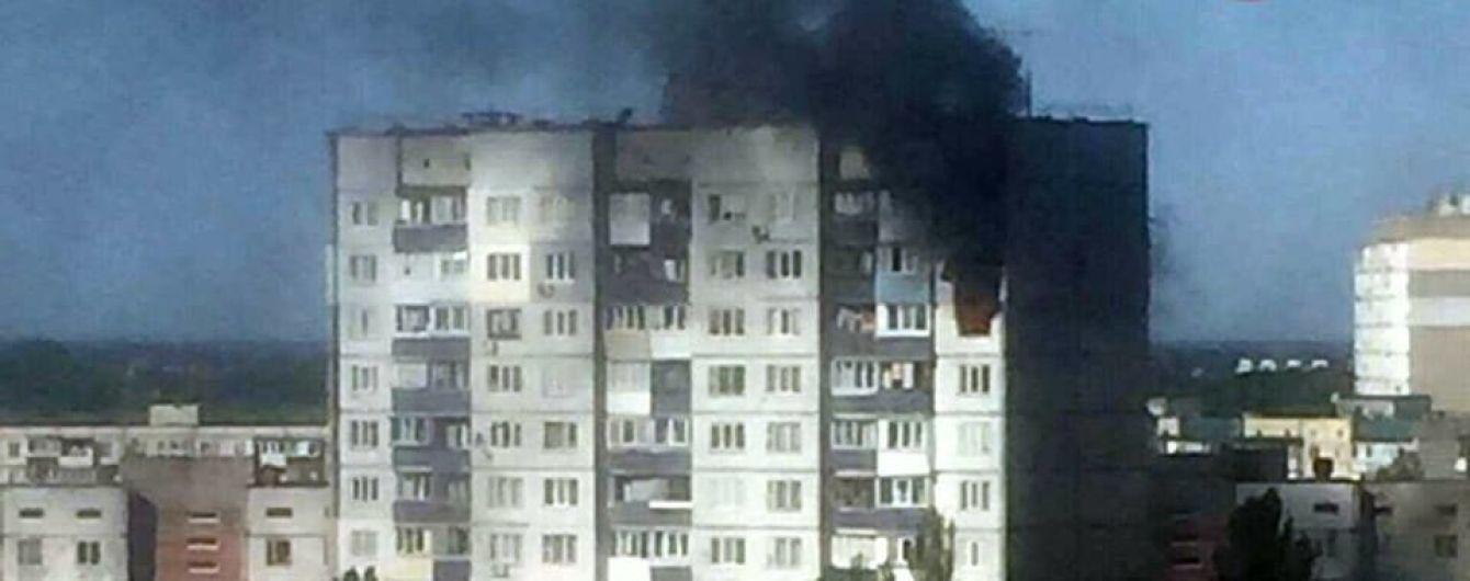 Масштабный пожар в Киеве: на Теремках вспыхнули две квартиры