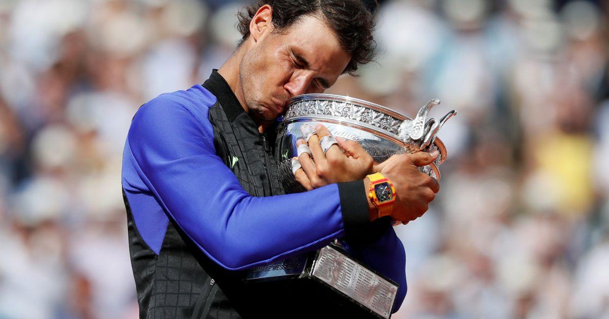Рафаэль Надаль победил Станисласа Ваврінку в финале Roland Garros @ Reuters