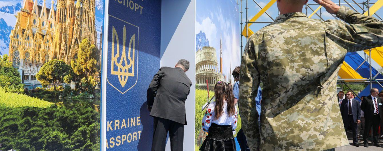 20% українців відправились до Євросоюзу з біометричними паспортами