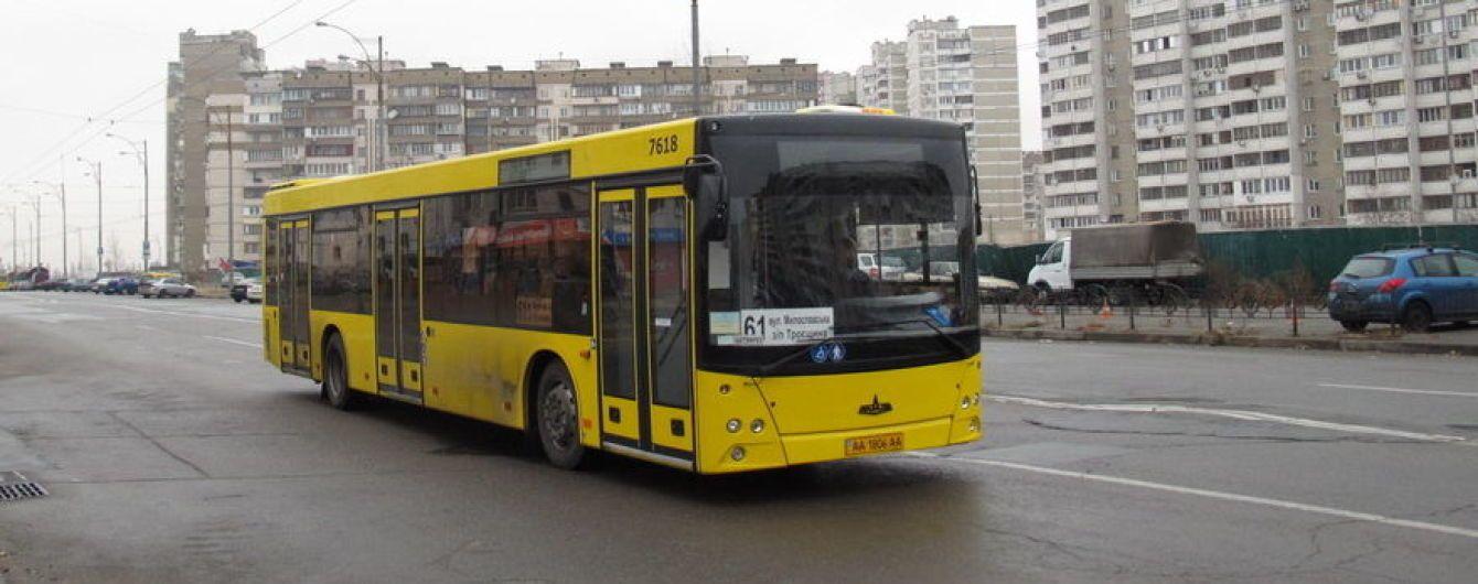 Для Києва закуплять 100 білоруських автобусів