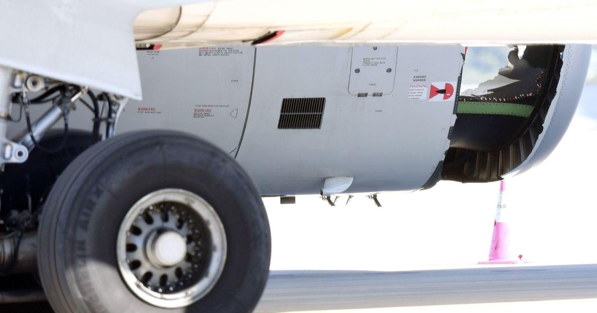 У польоті сталася аварія двигуна @ Reuters