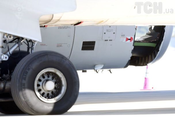 Лайнер із пасажирами приземлився у Сіднеї через пробитий двигун