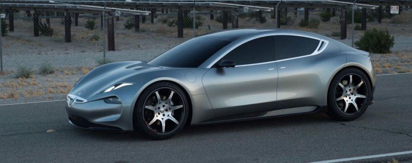 Fisker опубликовал новые изображения электрического спорткара EMotion