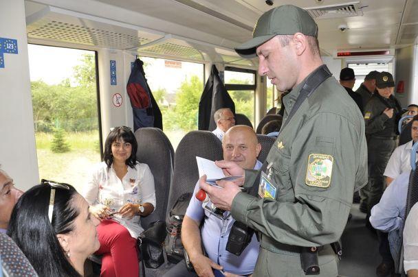 На Волыни в первый рейс в польский Холм отправился рельсовый автобус