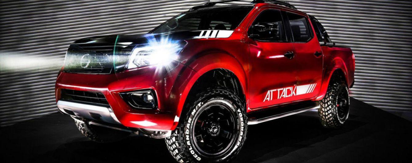 Nissan привез в Аргентину концептуальный пикап Frontier Attack