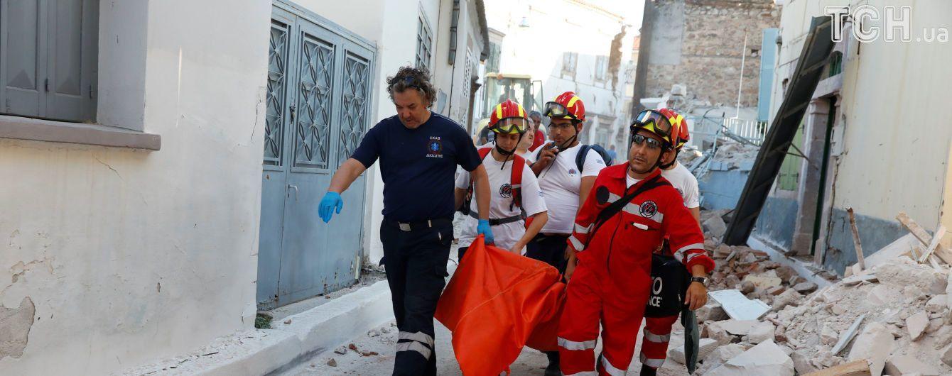 Внаслідок потужного землетрусу на острові Лесбос загинула жінка