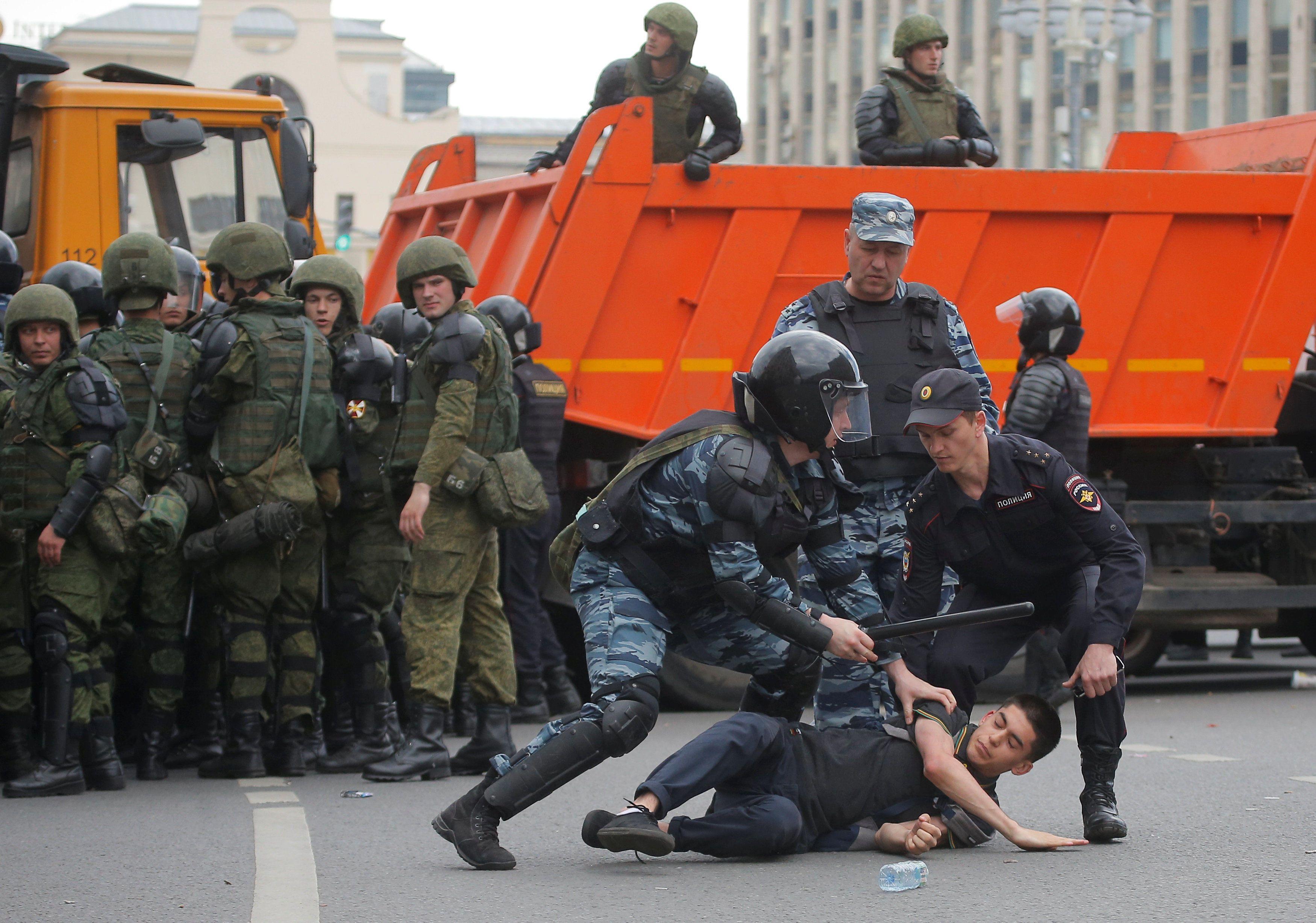 Протести у Росії Москва