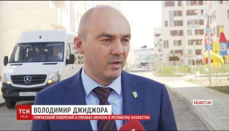 МЗС готує ноту протесту Казахстану через карту України без Криму