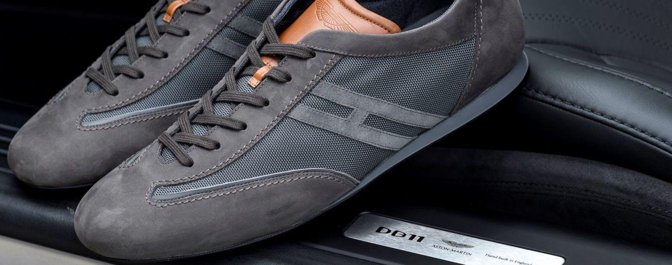 Aston Martin и Hogan создали роскошные кроссовки