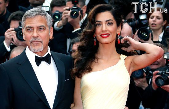 Молодий татко Джордж Клуні найняв для крихітних двійнят охоронців – ЗМІ