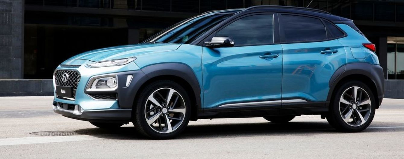 Hyundai рассекретил компактный вседорожник Kona