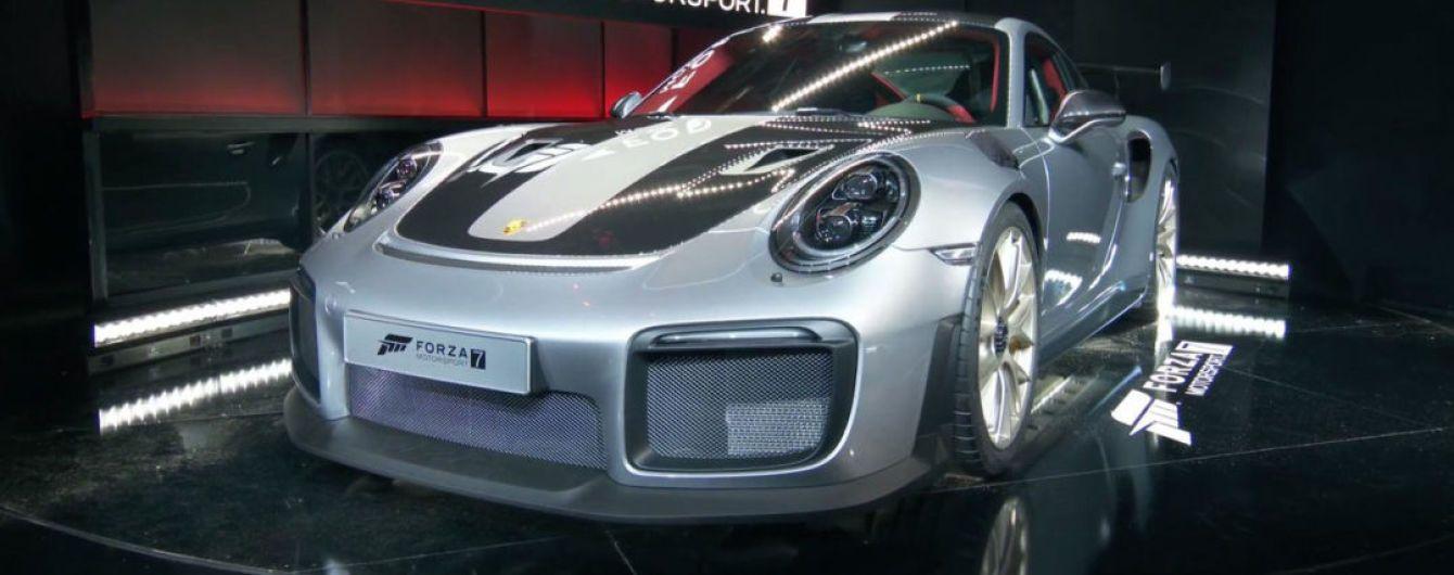 Быстрейший Porsche 911 GT2 RS засветился на презентации видеоигры