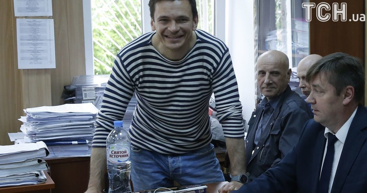 Ілля Яшин на засіданні суду @ Reuters