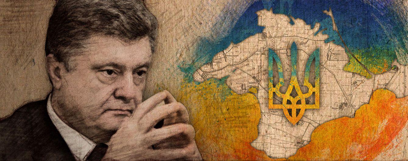 Крымская ошибка президента