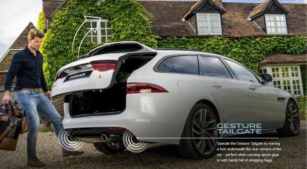 Jaguar представил новый универсал XF Sportbrake