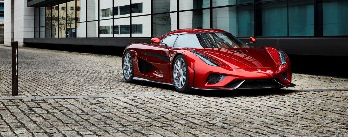 Koenigsegg распродал все 1500-сильные гиперкары Regera